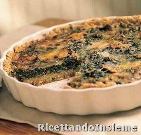Torta rustica di Patate e Spinaci